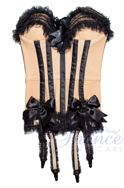 Inance Palm Beach Stretch Corset - Nude/Black