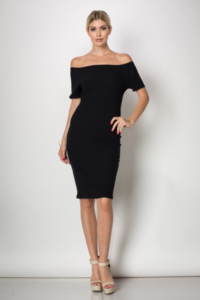 Inance Lusciously Beautiful Dress - Classic Noir - Made In The USA