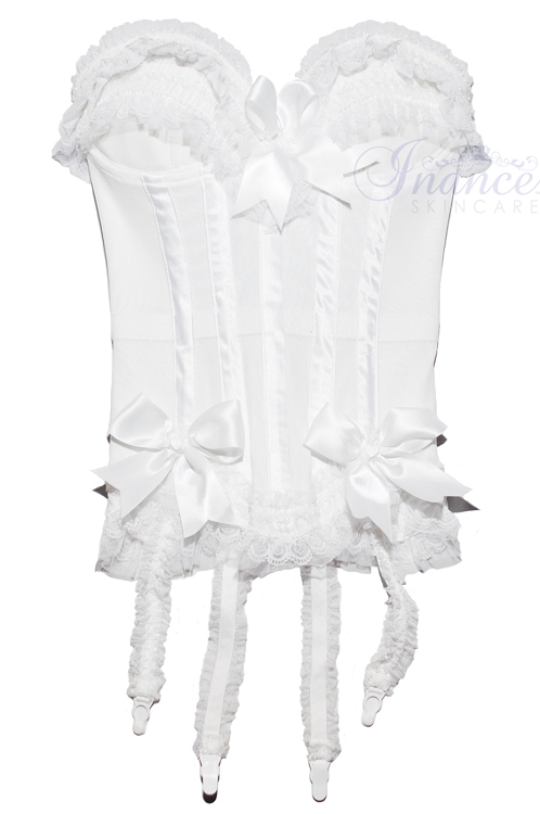 Inance Palm Beach Stretch Corset - White