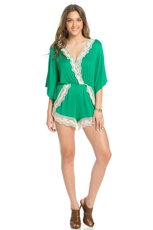Inance Let the Good Times Roll Romper - Made In the USA