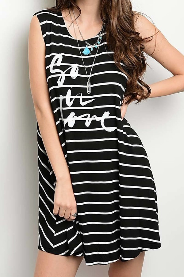 Smazy by Inance So In Love Loose Fit Dress