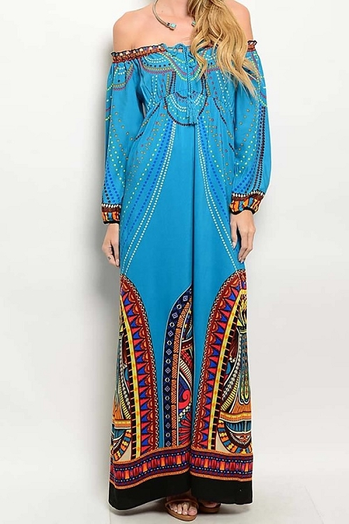 Smazy by Inance Multi Color Loose Fit Maxi Dress
