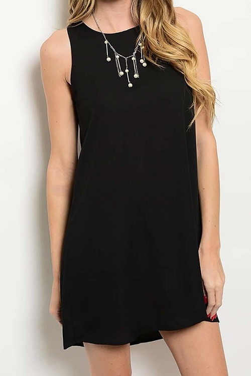 Smazy by Inance Perfect Little Black Loose Fit Dress