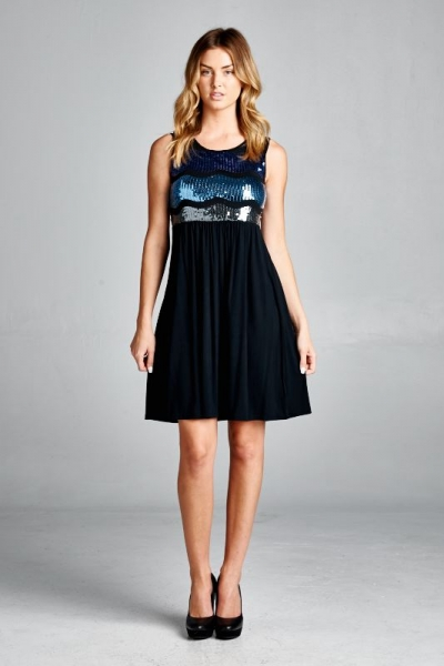 Inance Sequin Detail Dress