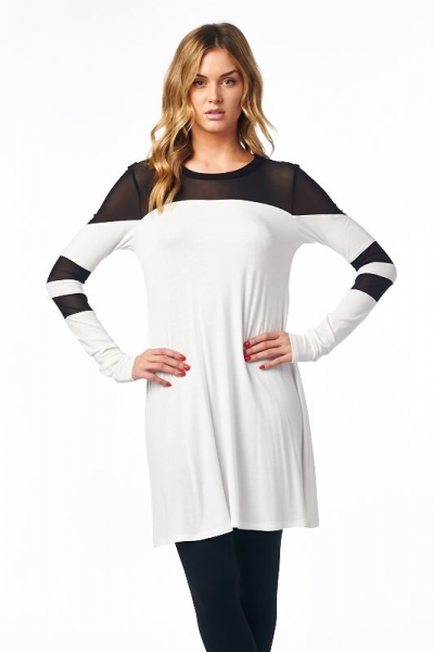 Inance Can't Hold Me Back Tunic Top  Ying and Yang - Made In The USA