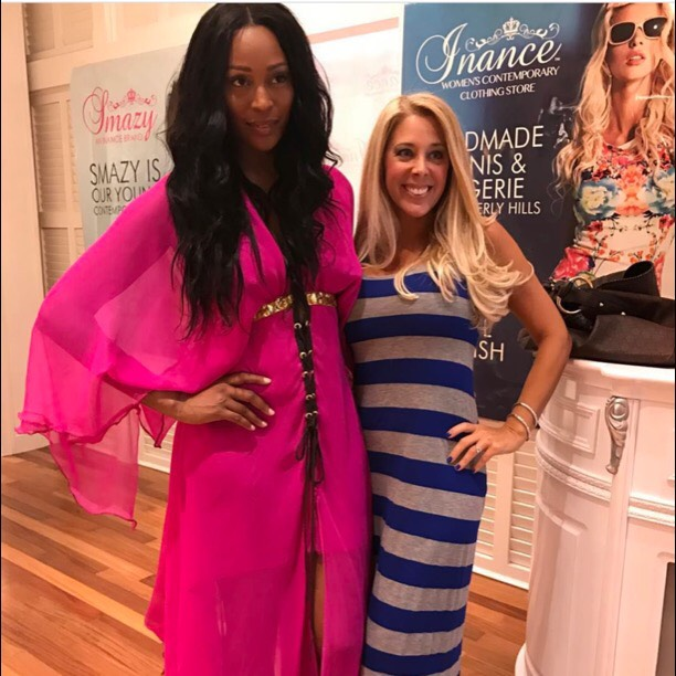 Celebrity Stylist Tonia Ryan Styles Cynthia Bailey From The Real Housewives Of Atlanta