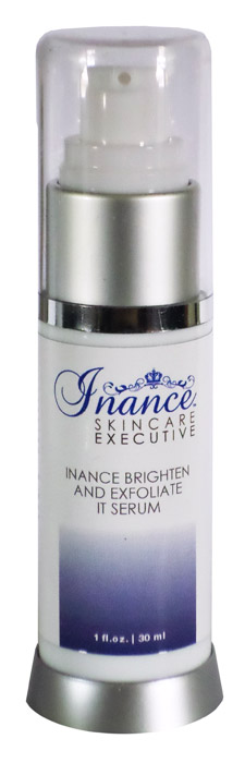 Inance Executive Brighten & Exfoliate It Serum  1oz.