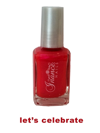 Inance Skincare Dynamic Chip Resistant Long Lasting Nail Polish, 5 Free of Chemicals, Lets Celebrate