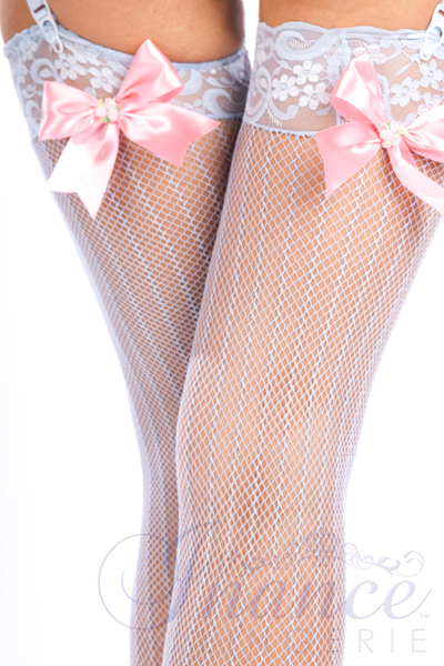 Inance Palm Beach Fancy Marilyns Stockings - Nude/Black