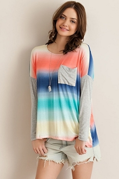 Inance I Dream in Technicolor Top - Made In The USA