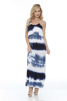 Smazy by Inance Dreaming in Tie Dye Maxi Dress