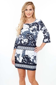 Smazy by Inance Bridget Print Dress, New