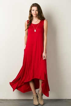 Inance Sleeveless Maxi Dress