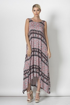 Inance Lazy Sunshine Days Maxi Dress - Made In The USA