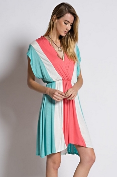 Inance Color Block Dress