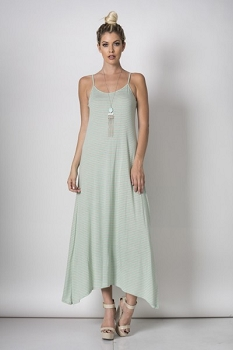 Inance Woodland Nymph Maxi Dress,New,Made in USA