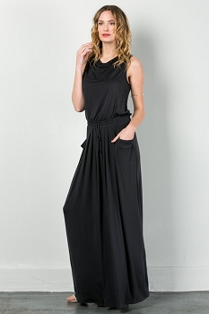 Inance Utility Chic Maxi Dress