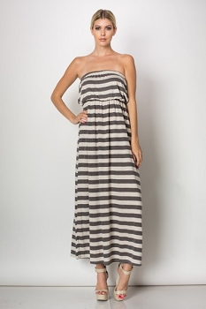 Inance Effortlessly Chic Maxi Dress - Made In The USA