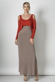 Inance Future of Fashion Maxi Dress  - Made In The USA
