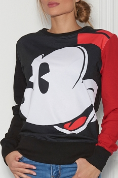 Disney - Sugarbird Designs Exclusive for Inance Mickey Mouse Sweatshirt