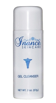 Inance Cleanser Gel, Travel Size 2oz (Step 1)