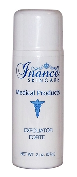 Inance Exfoliator Forte 2oz (Step 4) Face Exfoliator with Alpha Hydroxy Acids