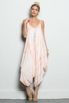 Inance Only Love Can Save Us Tie-Dye Jumpsuit - 6 Color Choices  - Made In The USA