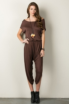 Inance Off the Beaten Path Jumpsuit - Cocoa Brown - Made In The USA