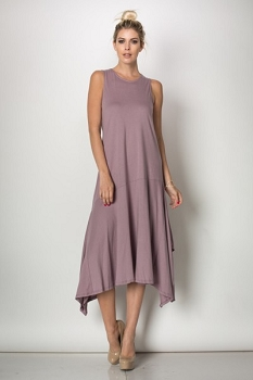 Inance Keep My Heart Safe Dress - Lavender Fields - Made In The USA