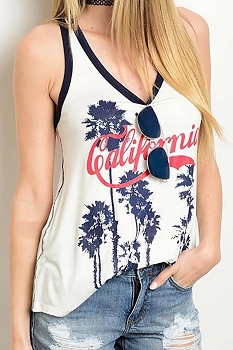 Smazy by Inance California Tank Top - 2 Color Choices