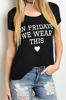 Smazy by Inance On Fridays We Wear This Top