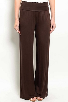 Smazy by Inance Solid Straight Leg Pants - 2 Color Choices