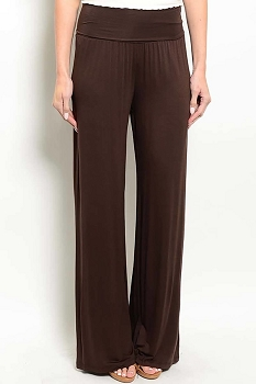 Smazy by Inance Casual Fold Waist Pants - 2 Color Choices