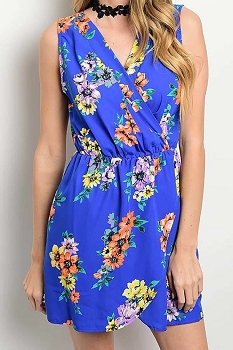 Smazy by Inance Floral Print Dress