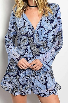 Smazy by Inance Paisley Print Romper