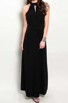 Smazy by Inance Tie Waist Maxi Dress - 3 Color Choices