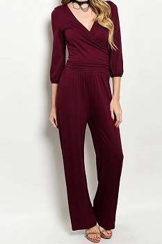 Smazy by Inance Wrap Jumpsuit