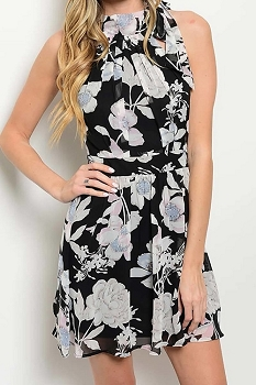 Smazy by Inance Woven Floral Print Dress