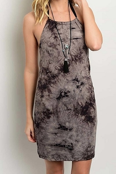 Smazy by Inance Tie Dye Halter Dress