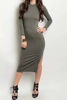 Smazy by Inance Ribbed Bodycon Dress