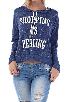 Smazy by Inance Shopping is Healing Hoodie Sweatshirt - 2 Color Choices