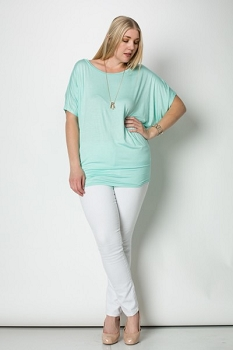 Inance Mermaid on Dry Land Top  Aqua Kiss - Made In The USA