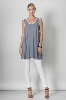 Inance Simple Staple Sleeveless Top, Made In USA