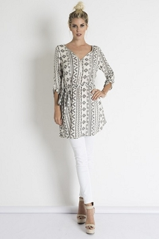 Inance Don't Hold Back Tunic Top - Made In The USA
