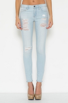 Inance Light Baby Blue Skinny Jeans