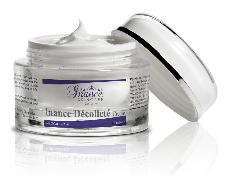 Inance Exclusive Decollete Cream, Compare to Obagi