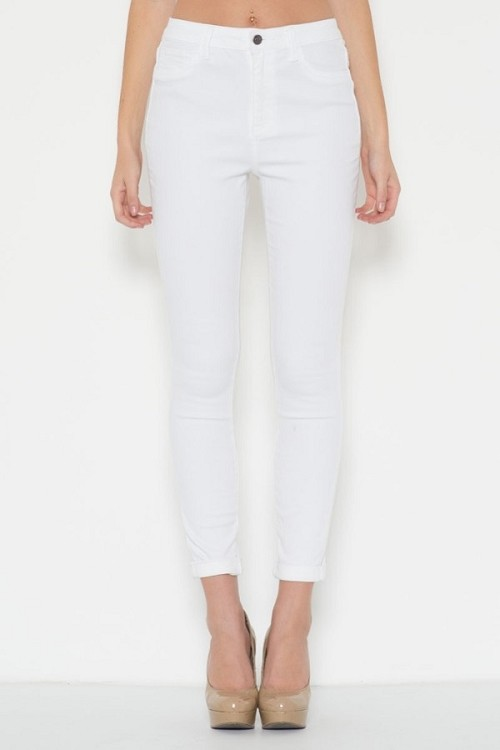 Inance High Waist Soft Stretch Fit Skinny Jeans