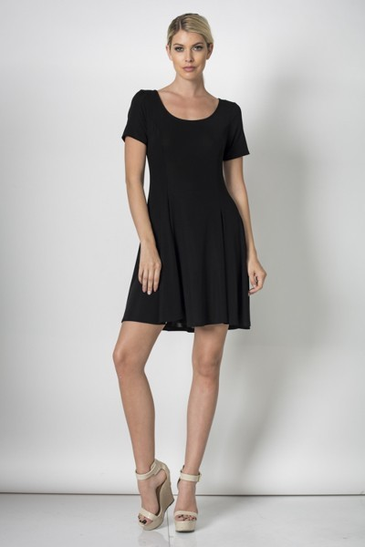 Inance Indispensable Little Black Dress - 2 Color Choices - Made In The USA