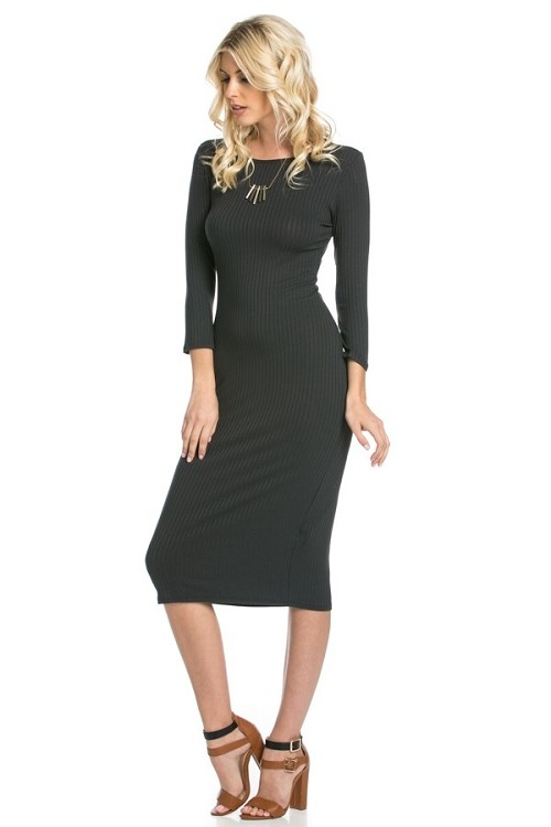 Inance Ready For Anything Bodycon Dress