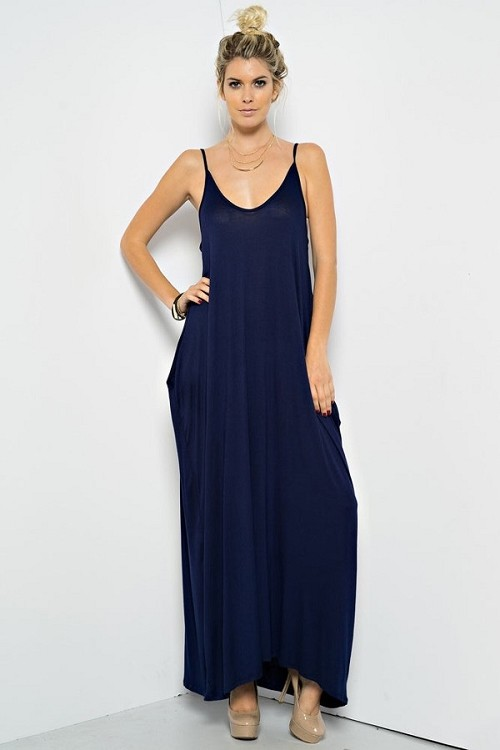 Inance Carefree Summer Nights Maxi Dress